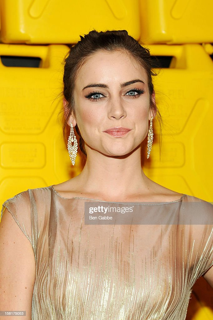 Actress Jessica Stroup attends 7th Annual Charity Ball Benefiting Charity:Water at the 69th Regiment Armory on December 10, 2012 in New York City.