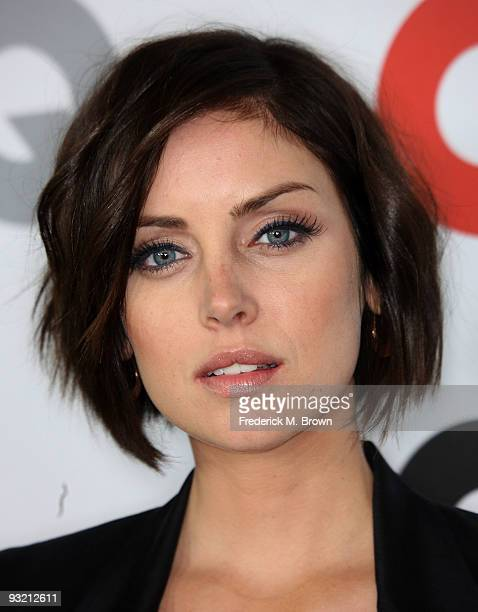 Actress Jessica Stroup attends the 14th annual GQ Men of the Year Party at the Chateau Marmont Hotel on November 18 2009 in Los Angeles California