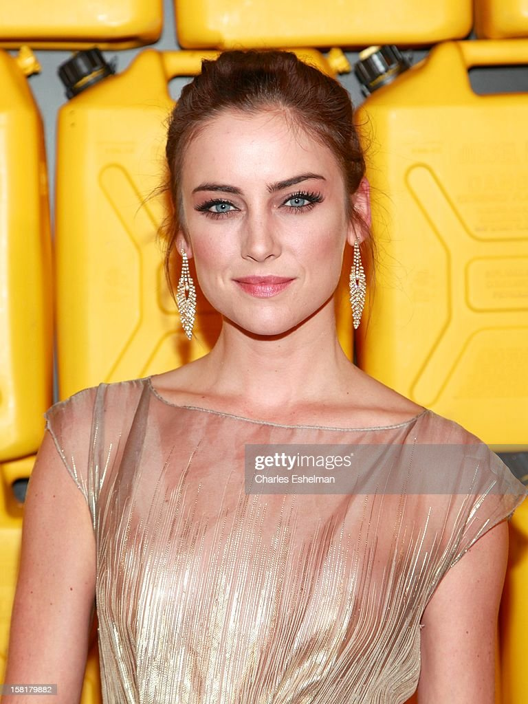Actress Jessica Stroup attends the 7th annual Charity Ball Benefiting Charity:Water at the 69th Regiment Armory on December 10, 2012 in New York City.
