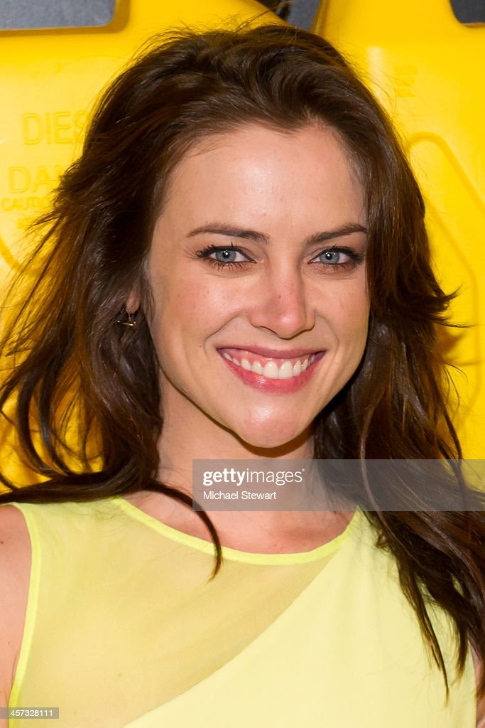 Actress Jessica Stroup attends the 8th annual charity: ball Gala at the Duggal Greenhouse on December 16, 2013 in the Brooklyn borough of New York City.