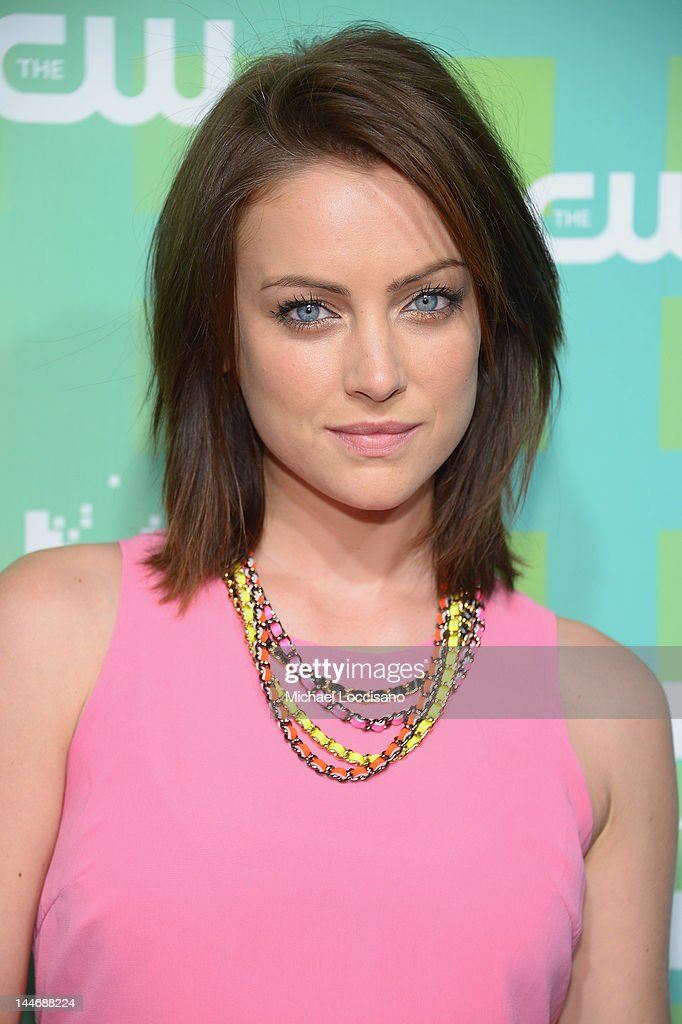Actress Jessica Stroup attends The CW Network's New York 2012 Upfront at New York City Center on May 17, 2012 in New York City.