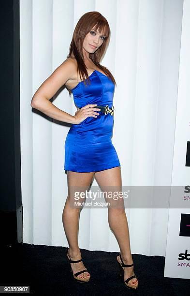 Actress Jessica Sutta attends SBE's Mi6 Nightclub Opening on September 15 2009 in West Hollywood United States