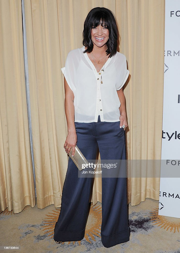 Actress Jessica Szohr arrives at Forevermark And InStyle Golden Globes Event 'A Promise Of Beauty And Brilliance' at the Beverly Hills Hotel on January 10, 2012 in Beverly Hills, California.