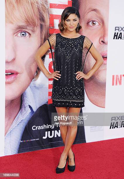 Actress Jessica Szohr arrives at the Los Angeles Premiere 'The Internship' at Regency Village Theatre on May 29 2013 in Westwood California