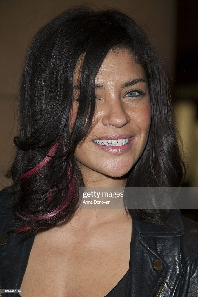 Actress Jessica Szohr attends a special screening of 'Beware Of Mr Baker' at the Egyptian Theatre on January 23 2013 in Hollywood California