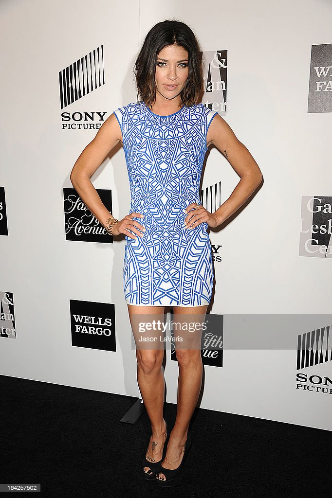 Actress Jessica Szohr attends 'An Evening' benefiting The L.A. Gay & Lesbian Center at the Beverly Wilshire Four Seasons Hotel on March 21, 2013 in Beverly Hills, California.