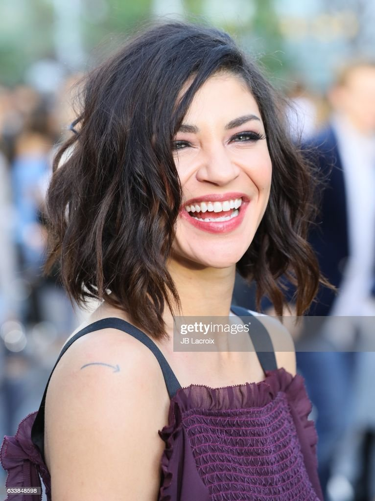 Actress Jessica Szohr attends designer Rebecca Minkoff's Spring 2017 'See Now, Buy Now' Fashion Show at The Grove on February 4, 2017 in Los Angeles, California.