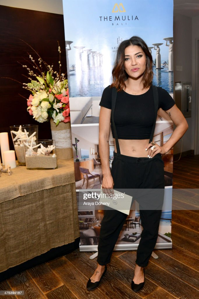 Actress <a gi-track='captionPersonalityLinkClicked' href=/galleries/search?phrase=Jessica+Szohr&family=editorial&specificpeople=4503387 ng-click='$event.stopPropagation()'>Jessica Szohr</a> attends Kari Feinstein's Pre-Academy Awards Style Lounge at the Andaz West Hollywood on February 27, 2014 in Los Angeles, California.