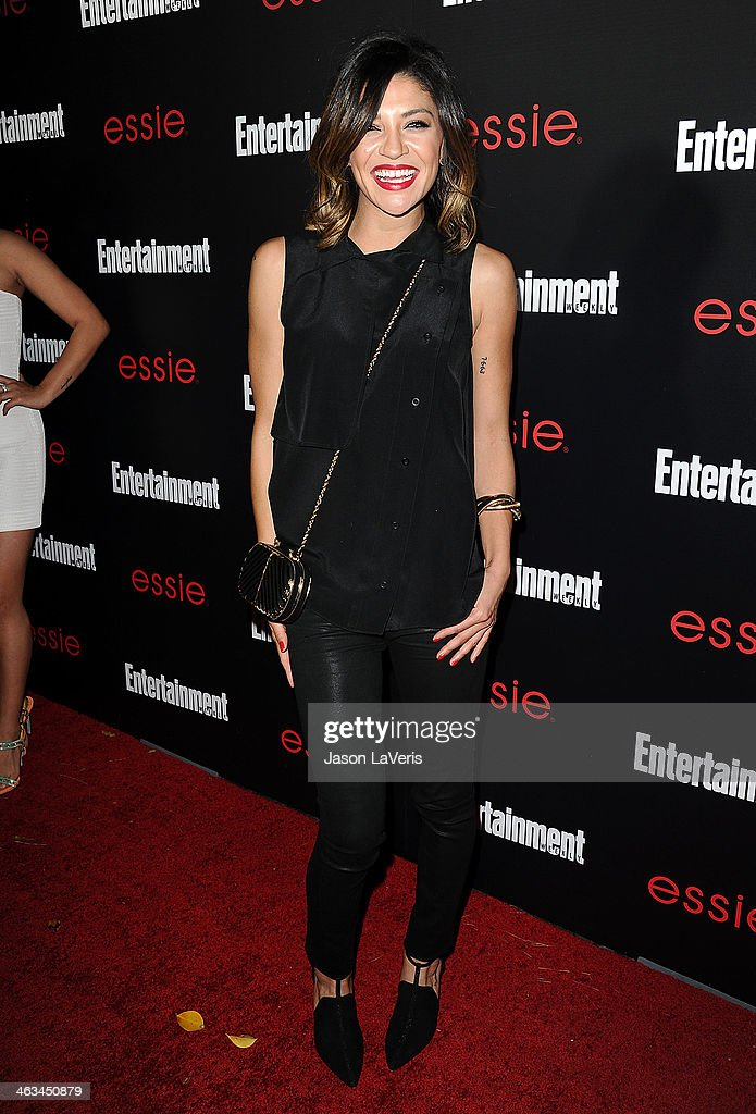 Actress <a gi-track='captionPersonalityLinkClicked' href=/galleries/search?phrase=Jessica+Szohr&family=editorial&specificpeople=4503387 ng-click='$event.stopPropagation()'>Jessica Szohr</a> attends the Entertainment Weekly SAG Awards pre-party at Chateau Marmont on January 17, 2014 in Los Angeles, California.