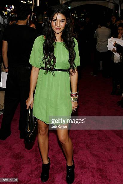 Actress Jessica Szohr attends the Juicy Couture Flagship Store Opening on November 6 2008 in New York City
