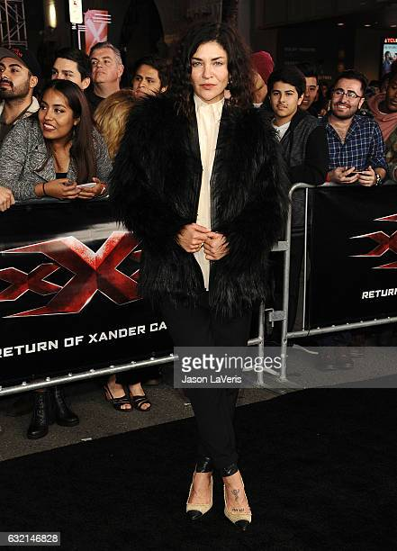 Actress Jessica Szohr attends the premiere of 'xXx Return of Xander Cage' at TCL Chinese Theatre IMAX on January 19 2017 in Hollywood California