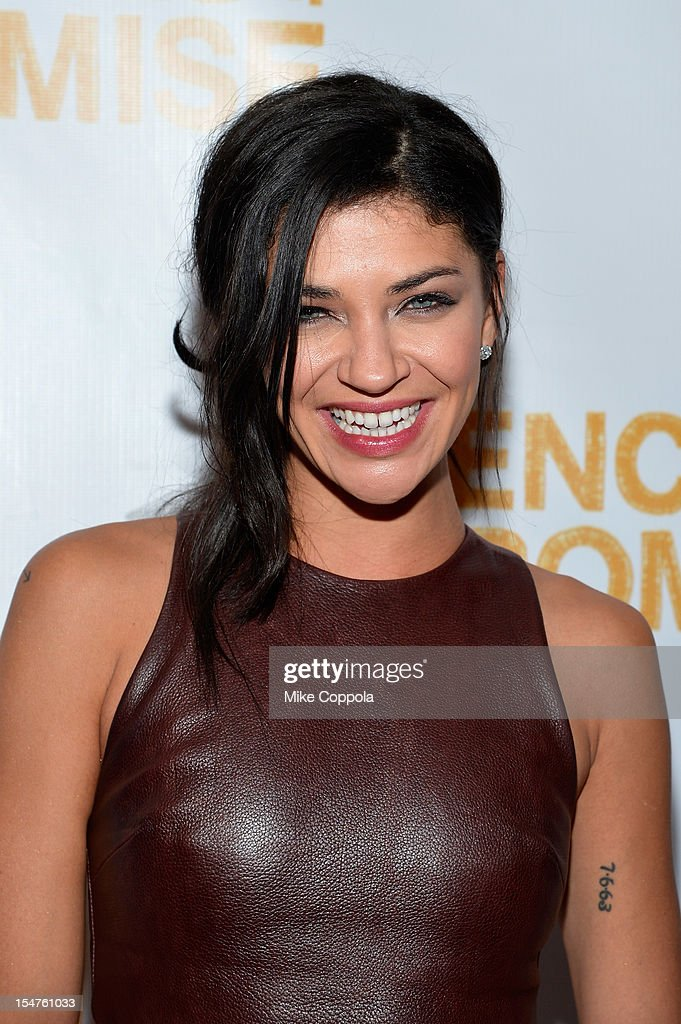 Actress Jessica Szohr attends the second annual Pencils of Promise Gala at Guastavino's on October 25, 2012 in New York City.
