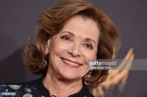 Actress Jessica Walter arrives at the 2017 Creative Arts Emmy Awards at Microsoft Theater on September 9 2017 in Los Angeles California