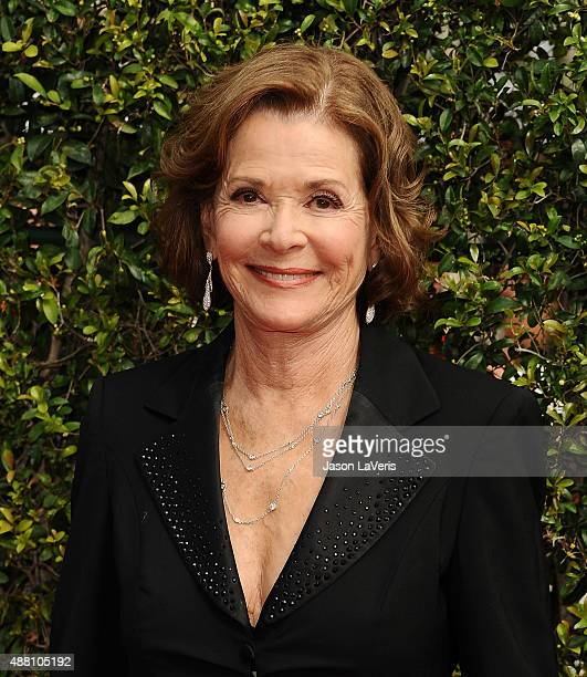 Actress Jessica Walter attends the 2015 Creative Arts Emmy Awards at Microsoft Theater on September 12 2015 in Los Angeles California