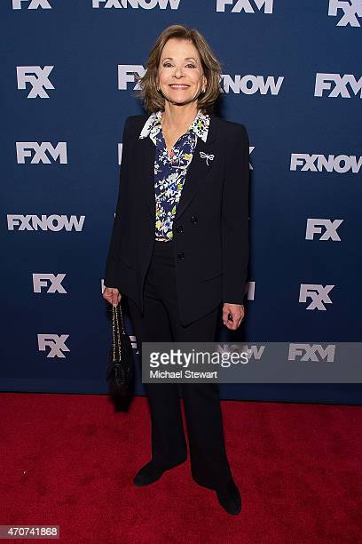 Actress Jessica Walter attends the 2015 FX Bowling Party at Lucky Strike on April 22 2015 in New York City