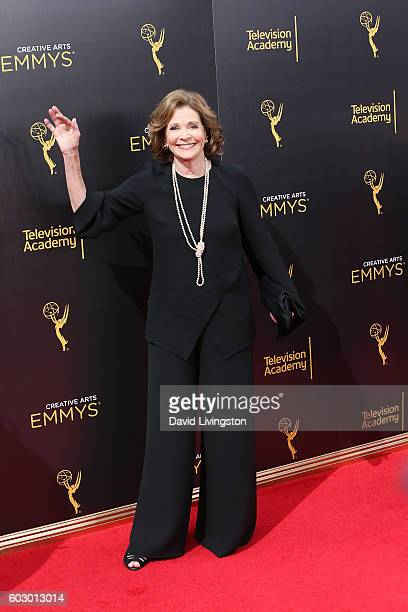 Actress Jessica Walter attends the 2016 Creative Arts Emmy Awards Day 2 at the Microsoft Theater on September 11 2016 in Los Angeles California