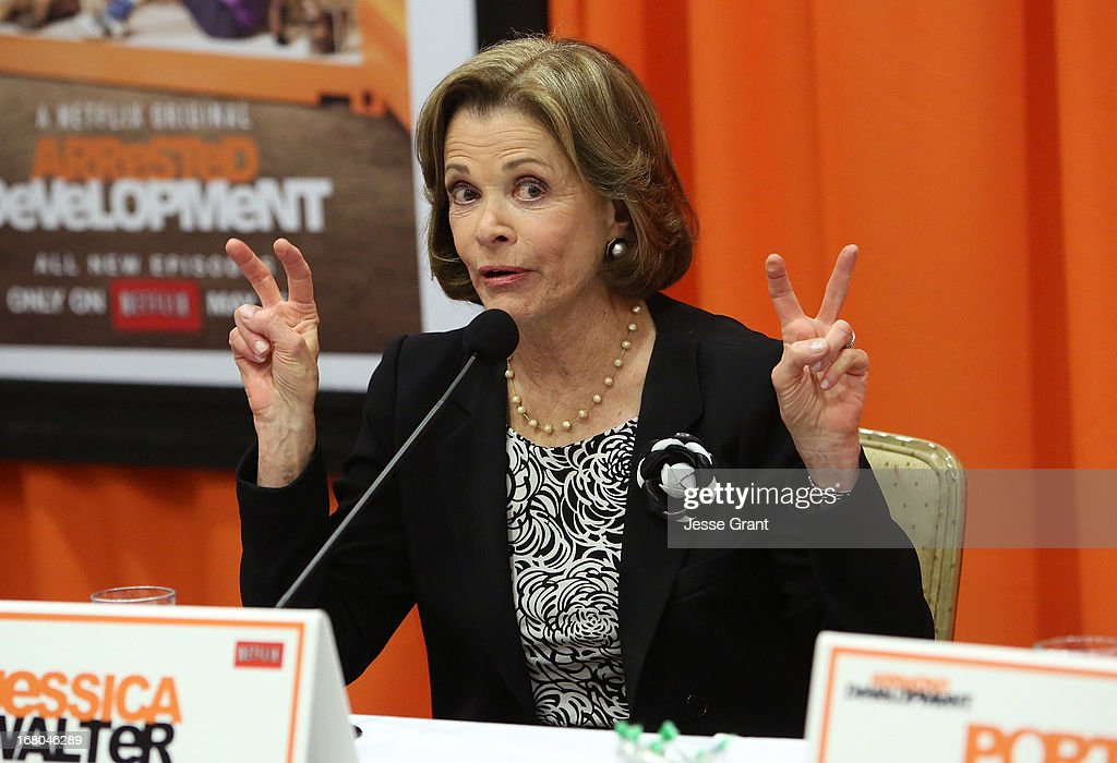 Actress Jessica Walter attends The Netflix Original Series 'Arrested Development' Press Conference at Sheraton Universal on May 4, 2013 in Universal City, California.