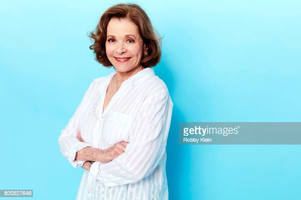 Actress Jessica Walter from FX's 'Archer' poses for a portrait during ComicCon 2017 at Hard Rock Hotel San Diego on July 21 2017 in San Diego...