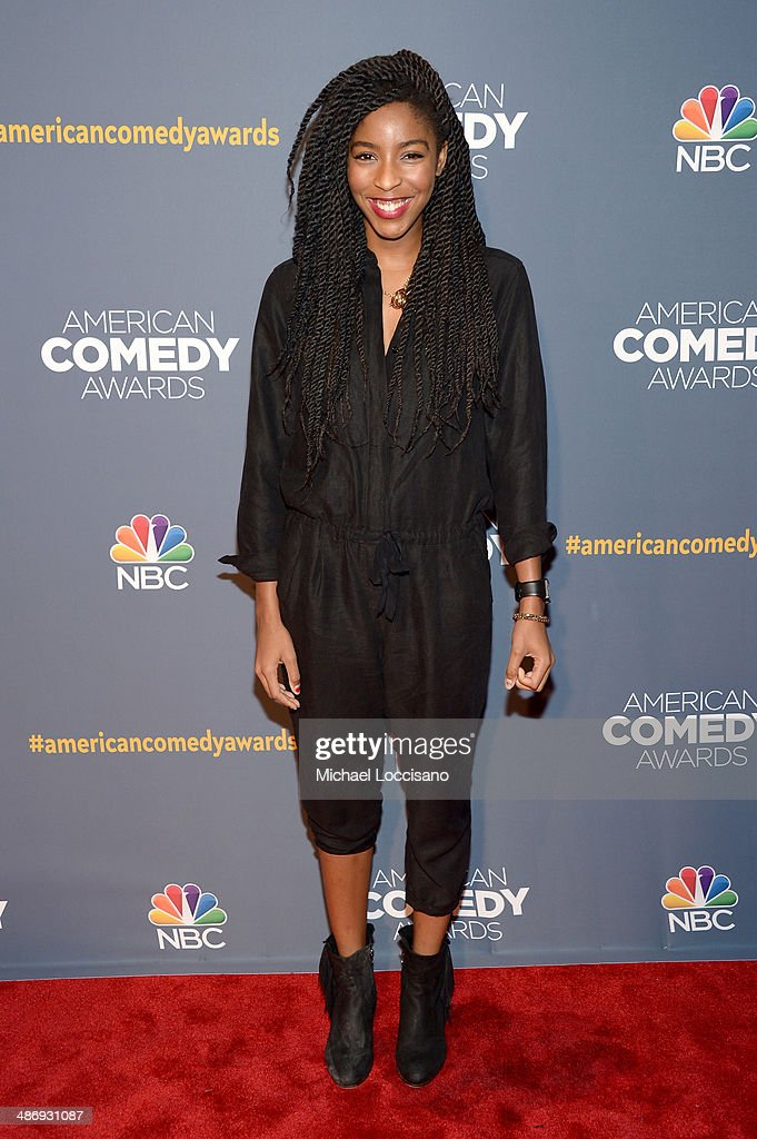Actress <a gi-track='captionPersonalityLinkClicked' href=/galleries/search?phrase=Jessica+Williams+-+Actress&family=editorial&specificpeople=13518031 ng-click='$event.stopPropagation()'>Jessica Williams</a> attends 2014 American Comedy Awards at Hammerstein Ballroom on April 26, 2014 in New York City.