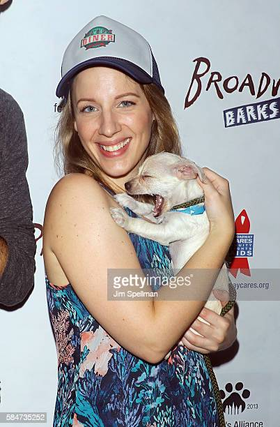 Actress Jessie Mueller attends the 18th Annual Broadway Barks at Shubert Alley on July 30 2016 in New York City
