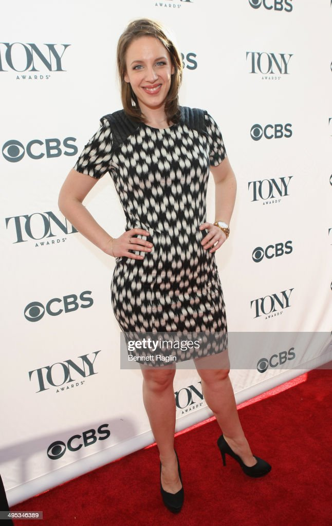 Actress Jessie Mueller attends the 2014 Tony Honors Cocktail Party at the Paramount Hotel on June 2 2014 in New York City