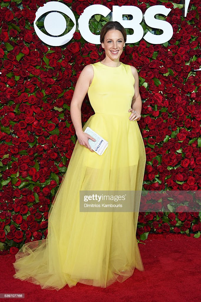 Actress Jessie Mueller attends the 70th Annual Tony Awards at The Beacon Theatre on June 12 2016 in New York City