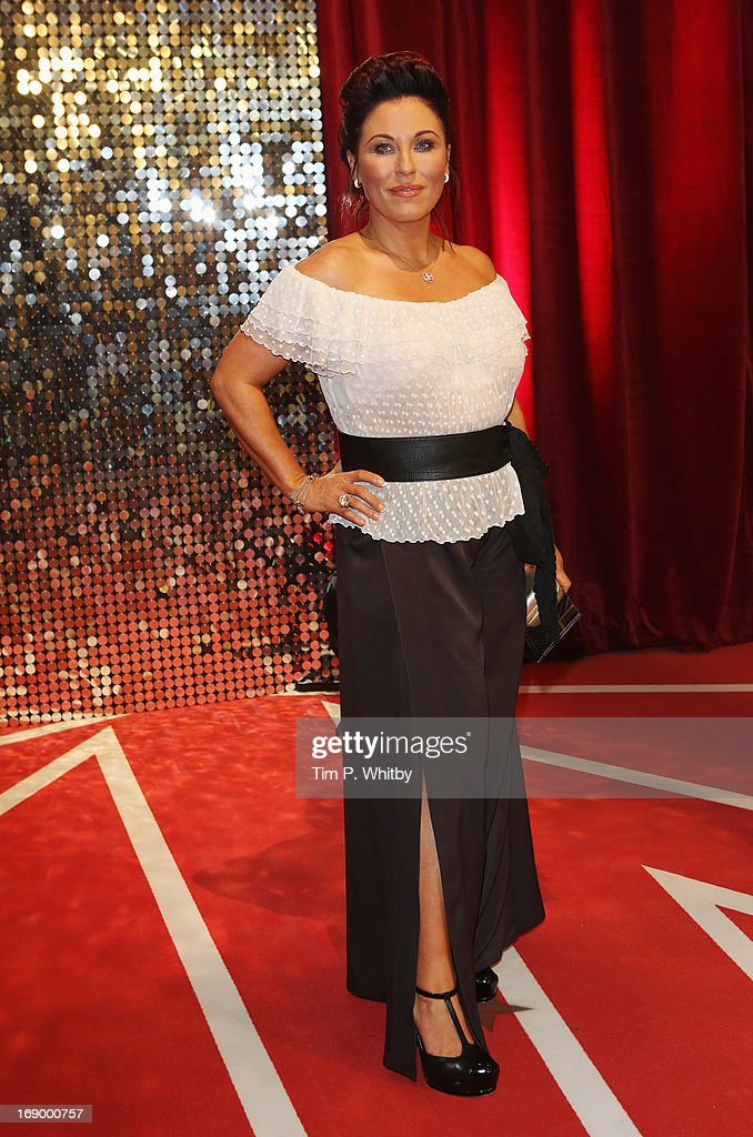 Actress Jessie Wallace attends the British Soap Awards at Media City on May 18, 2013 in Manchester, England.