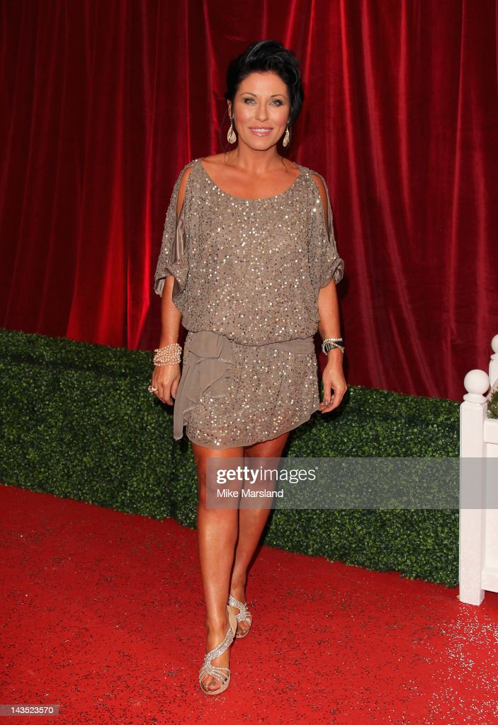 Actress Jessie Wallace attends the British Soap Awards at The London Television Centre on April 28, 2012 in London, England.