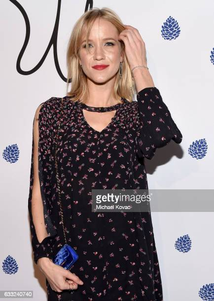 Actress Jessy Schram arrives at Tyler Ellis Celebrates 5th Anniversary And Launch Of Tyler Ellis x Petra Flannery Collection at Chateau Marmont on...