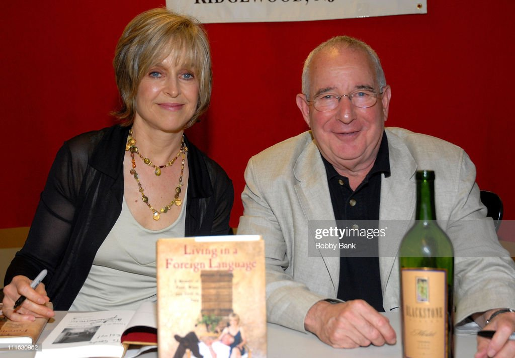 Actress <a gi-track='captionPersonalityLinkClicked' href=/galleries/search?phrase=Jill+Eikenberry&family=editorial&specificpeople=642274 ng-click='$event.stopPropagation()'>Jill Eikenberry</a> with husband Actor/Author Michael Tucker signing copies of 'Living in a Foreign Language' at Bookends Bookstore in Ridgewood NJ JUly 11 2007