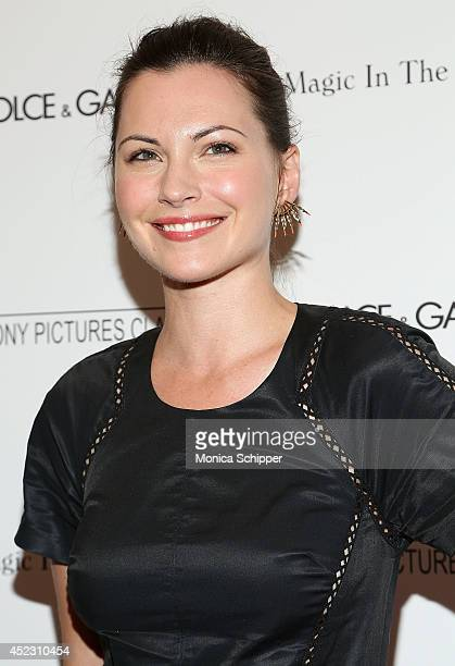 Actress Jill Flint attends 'Magic In The Moonlight' premiere at Paris Theater on July 17 2014 in New York City