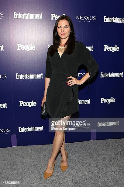Actress Jill Flint attends New York UpFronts Party Hosted By People and Entertainment Weekly at The Highline Hotel on May 11 2015 in New York City