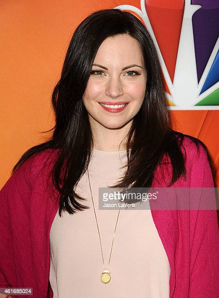 Actress Jill Flint attends the NBCUniversal 2015 press tour at The Langham Huntington Hotel and Spa on January 16 2015 in Pasadena California