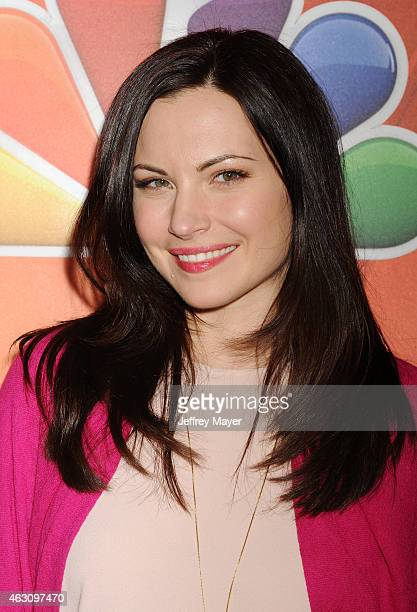 Actress Jill Flint attends the NBCUniversal 2015 Press Tour at the Langham Huntington Hotel on January 16 2015 in Pasadena California