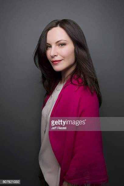 Actress Jill Flint is photographed for TV Guide Magazine on January 16 2015 in Pasadena California