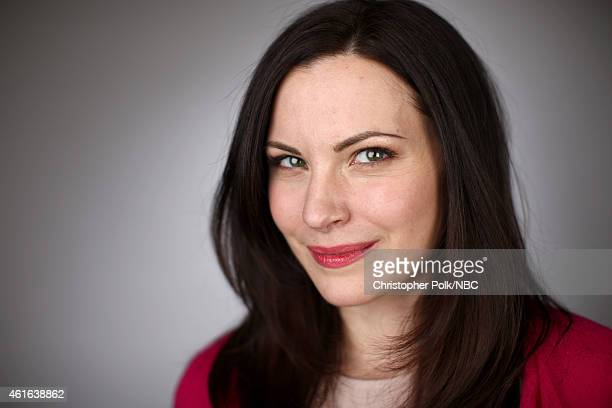 Actress Jill Flint of 'The Night Shift' poses for a portrait during the NBCUniversal TCA Press Tour at The Langham Huntington Pasadena on January 16...