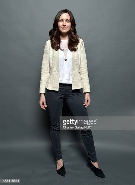 Actress Jill Flint poses for a portrait during the 2014 NBCUniversal Summer Press Day at The Langham Huntington on April 8 2014 in Pasadena...