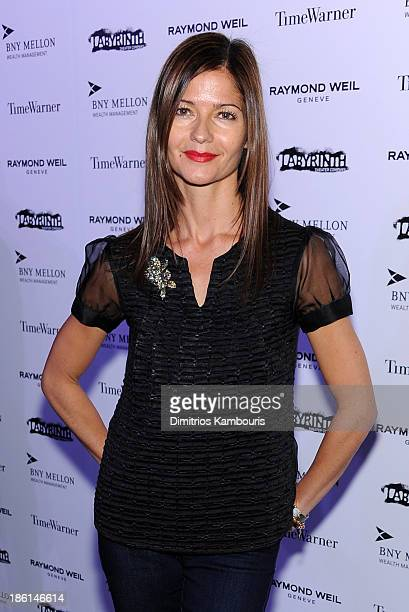 Actress Jill Hennessy attends LAByrinth Theater Company Celebrity Charades 2013 Benefit Gala on October 28 2013 in New York City