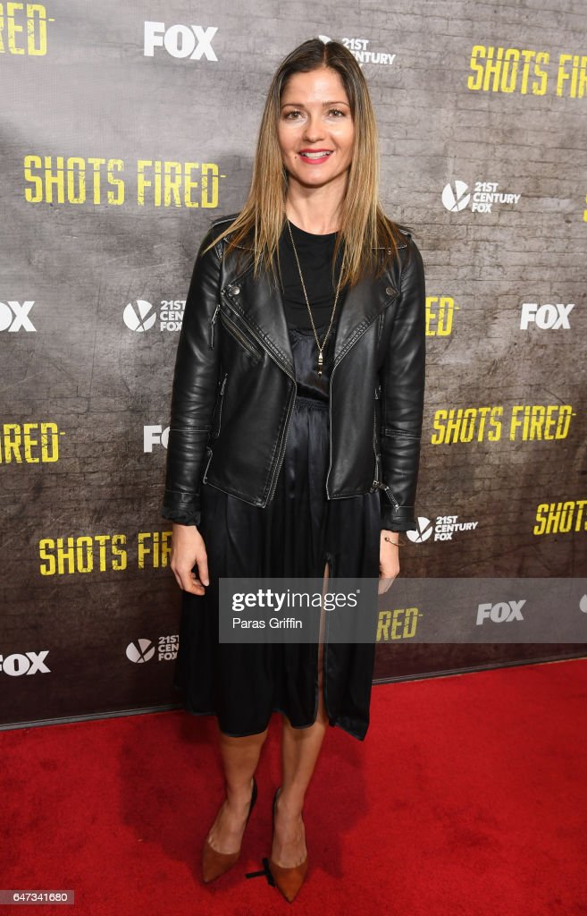 Actress Jill Hennessy attends 'Shots Fired' Atlanta screening at National Center for Civil and Human Rights on March 2, 2017 in Atlanta, Georgia.