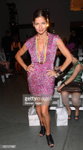 Actress Jill Hennessy attends the Catherine Malandrino Fashion Show benefiting FFAWN>> at The Museum of Modern Art on June 15 2010 in New York City
