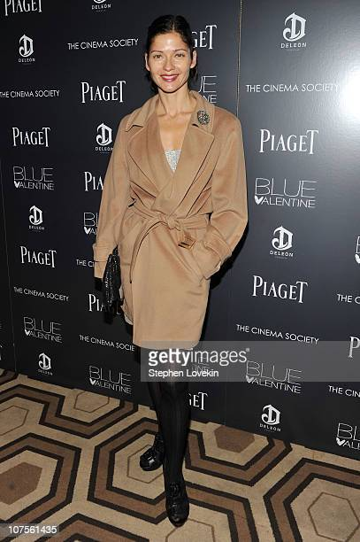 Actress Jill Hennessy attends the Cinema Society Piaget screening of 'Blue Valentine' at theTribeca Grand Hotel on December 13 2010 in New York City
