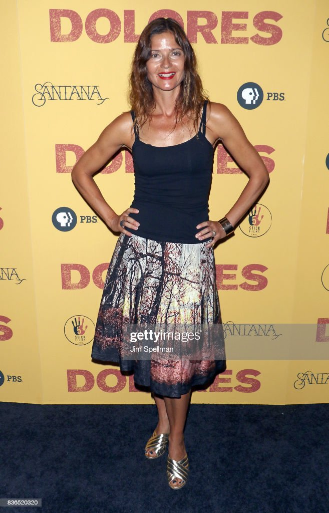 Actress Jill Hennessy attends the 'Dolores' New York premiere at The Metrograph on August 21, 2017 in New York City.