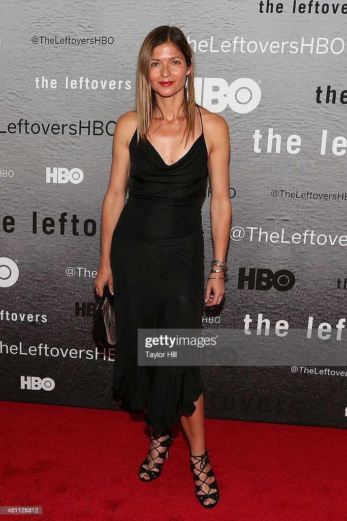 Actress Jill Hennessy attends 'The Leftovers' premiere at NYU Skirball Center on June 23, 2014 in New York City.