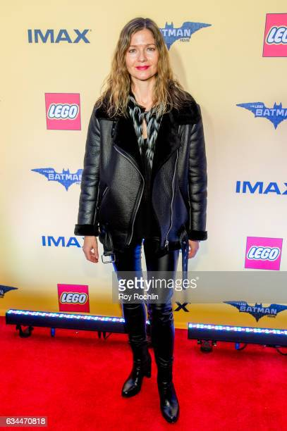 Actress Jill Hennessy attends 'The Lego Batman Movie' New York Screening at AMC Loews Lincoln Square 13 on February 9 2017 in New York City