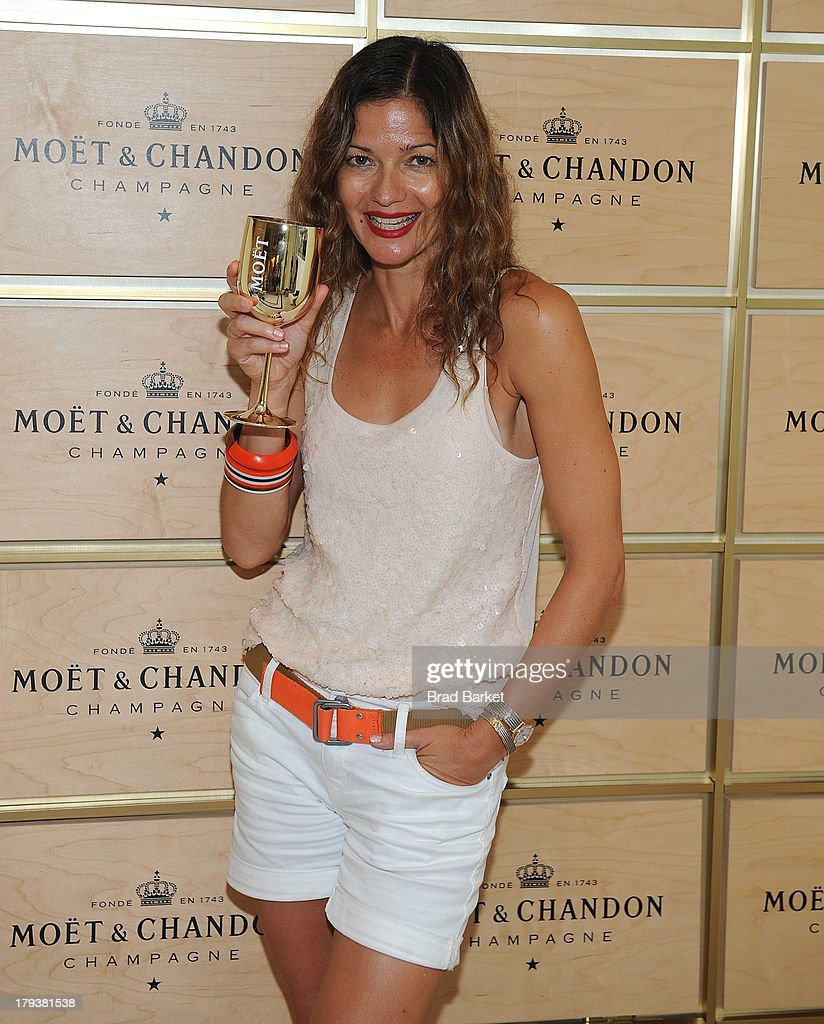 Actress Jill Hennessy attends the Moet & Chandon Suite at USTA Billie Jean King National Tennis Center on September 2, 2013 in New York City.