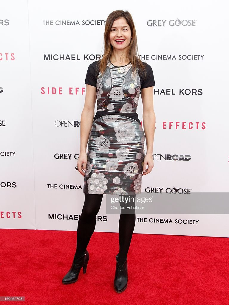 Actress Jill Hennessy attends the Open Road, The Cinema Society & Michael Kors premiere of 'Side Effects' at AMC Loews Lincoln Square on January 31, 2013 in New York City.