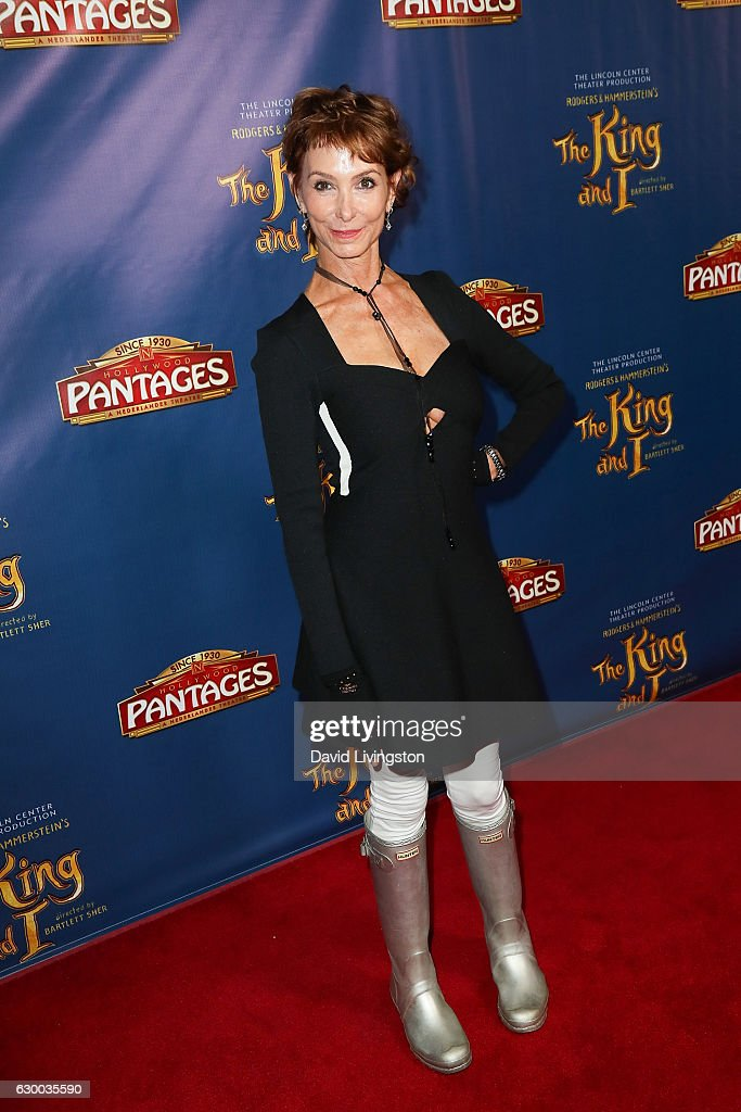 Actress Jill Jacobson arrives at the Opening Night of The Lincoln Center Theater's Production Of Rodgers and Hammerstein's 'The King and I' at the Pantages Theatre on December 15, 2016 in Hollywood, California.