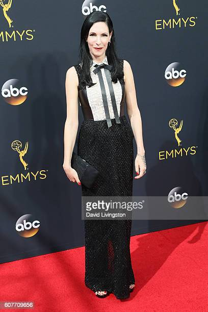 Actress Jill Kargman arrives at the 68th Annual Primetime Emmy Awards at the Microsoft Theater on September 18 2016 in Los Angeles California