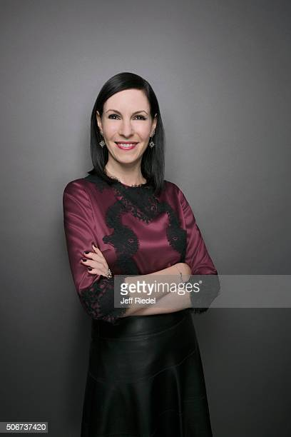Actress Jill Kargman is photographed for TV Guide Magazine on January 15 2015 in Pasadena California