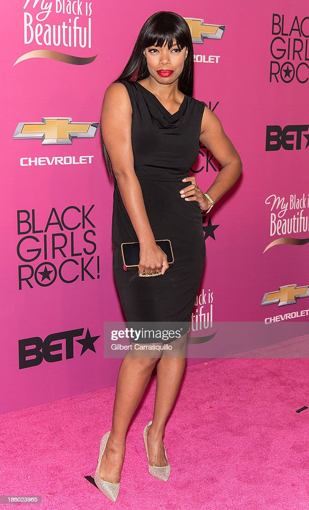 Actress <a gi-track='captionPersonalityLinkClicked' href=/galleries/search?phrase=Jill+Marie+Jones&family=editorial&specificpeople=239481 ng-click='$event.stopPropagation()'>Jill Marie Jones</a> attends Black Girls Rock! 2013 at New Jersey Performing Arts Center on October 26, 2013 in Newark, New Jersey.